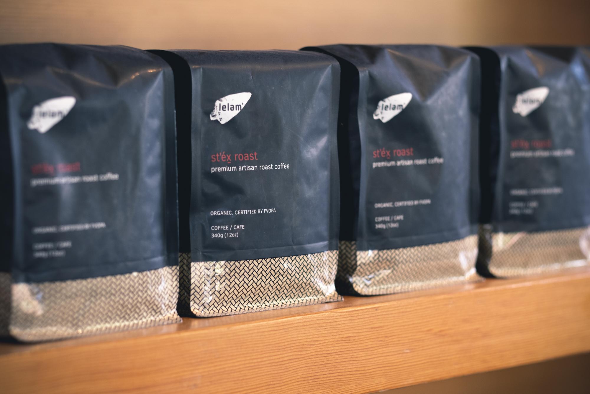 Branding - stex roast coffee