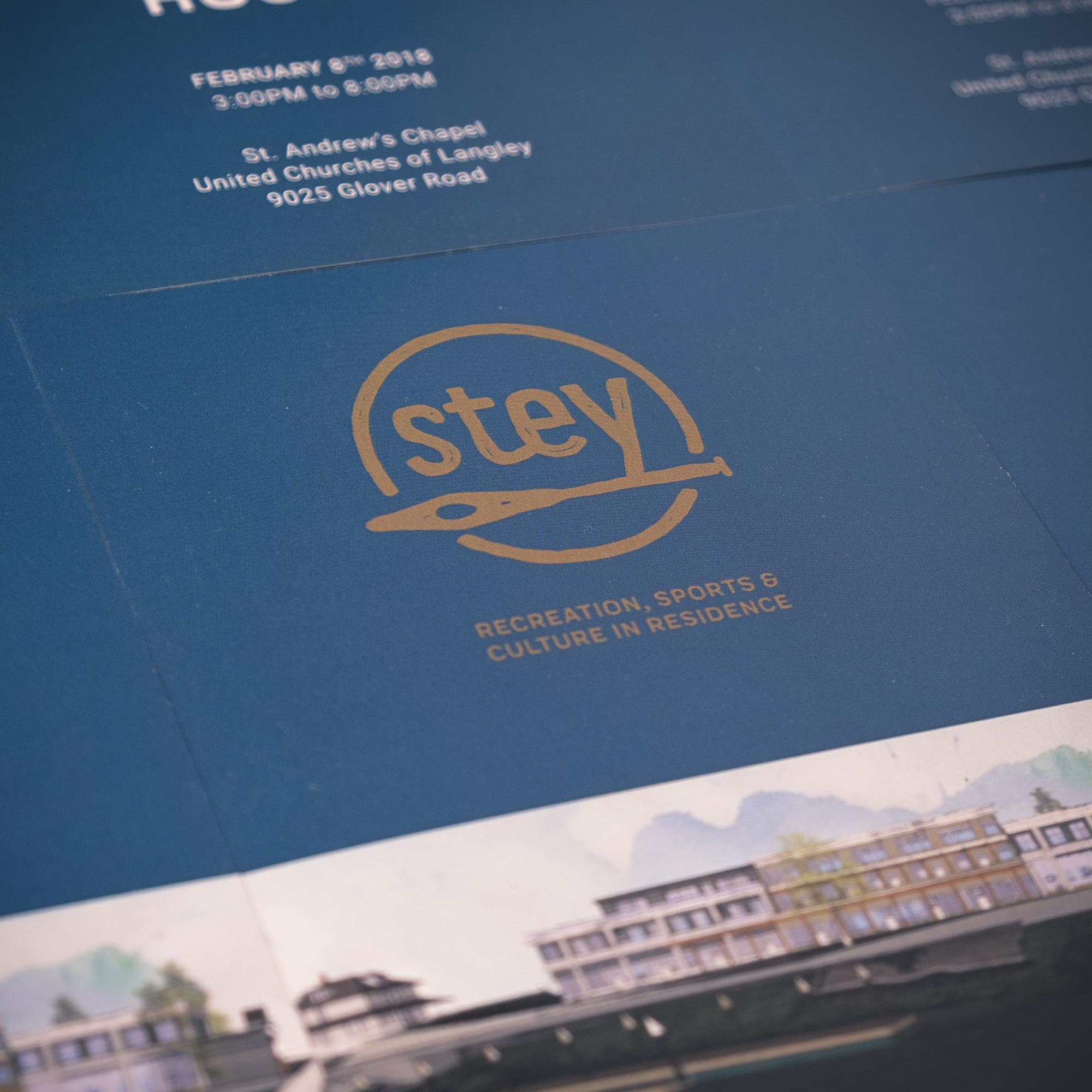 Logo design - stey Lodge