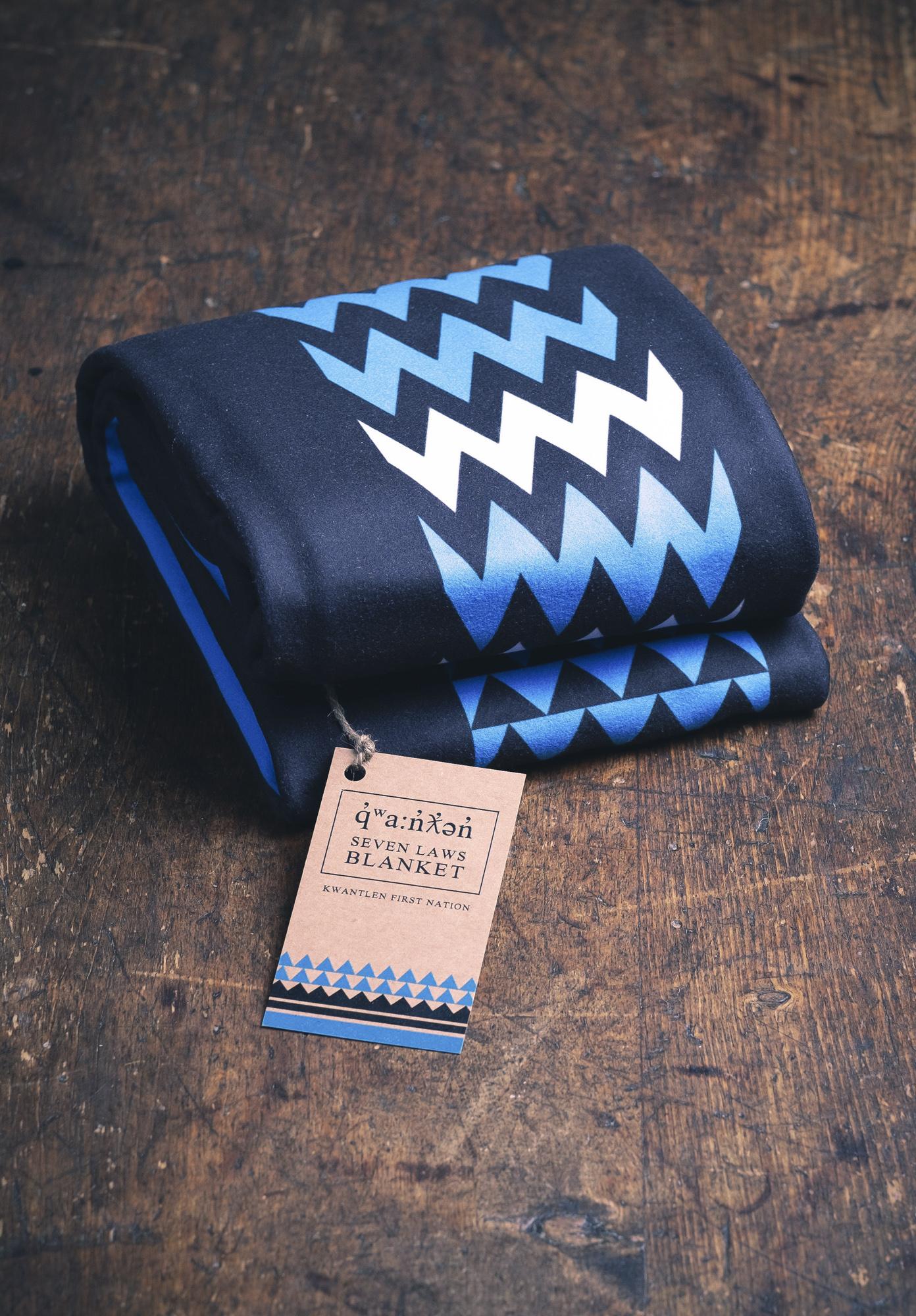 Blanket design - Kwantlen Seven Laws