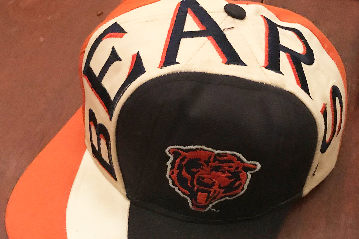 Maybe the coolest hat I've ever owned. Bears and 1994 crazy type is PERFECT.
