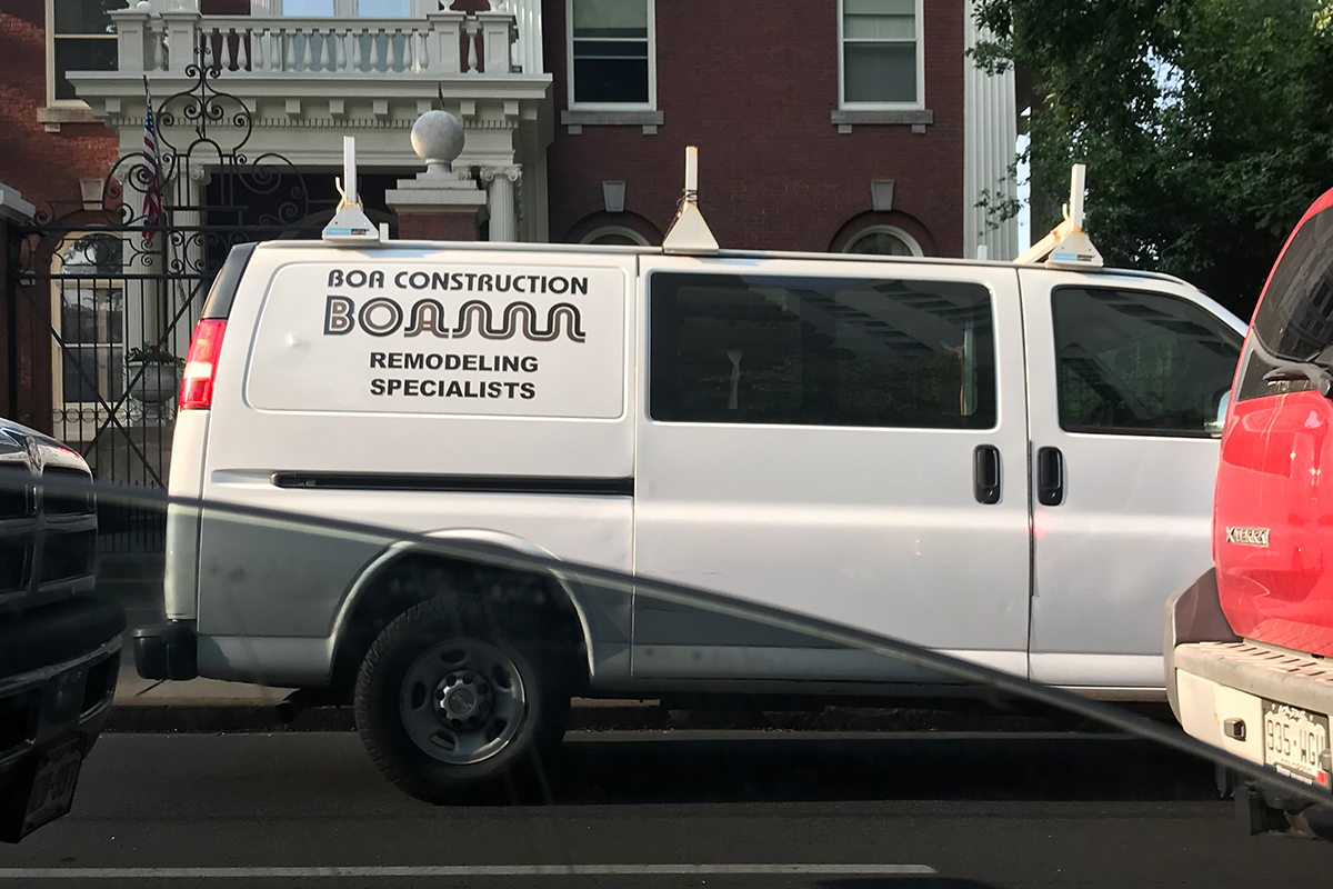 Wacky Van #2: This one is 'BOAnnn'.