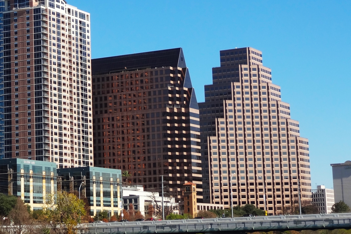 …that it's for the building on the right. Look up One Eleven Congress in Austin, TX.