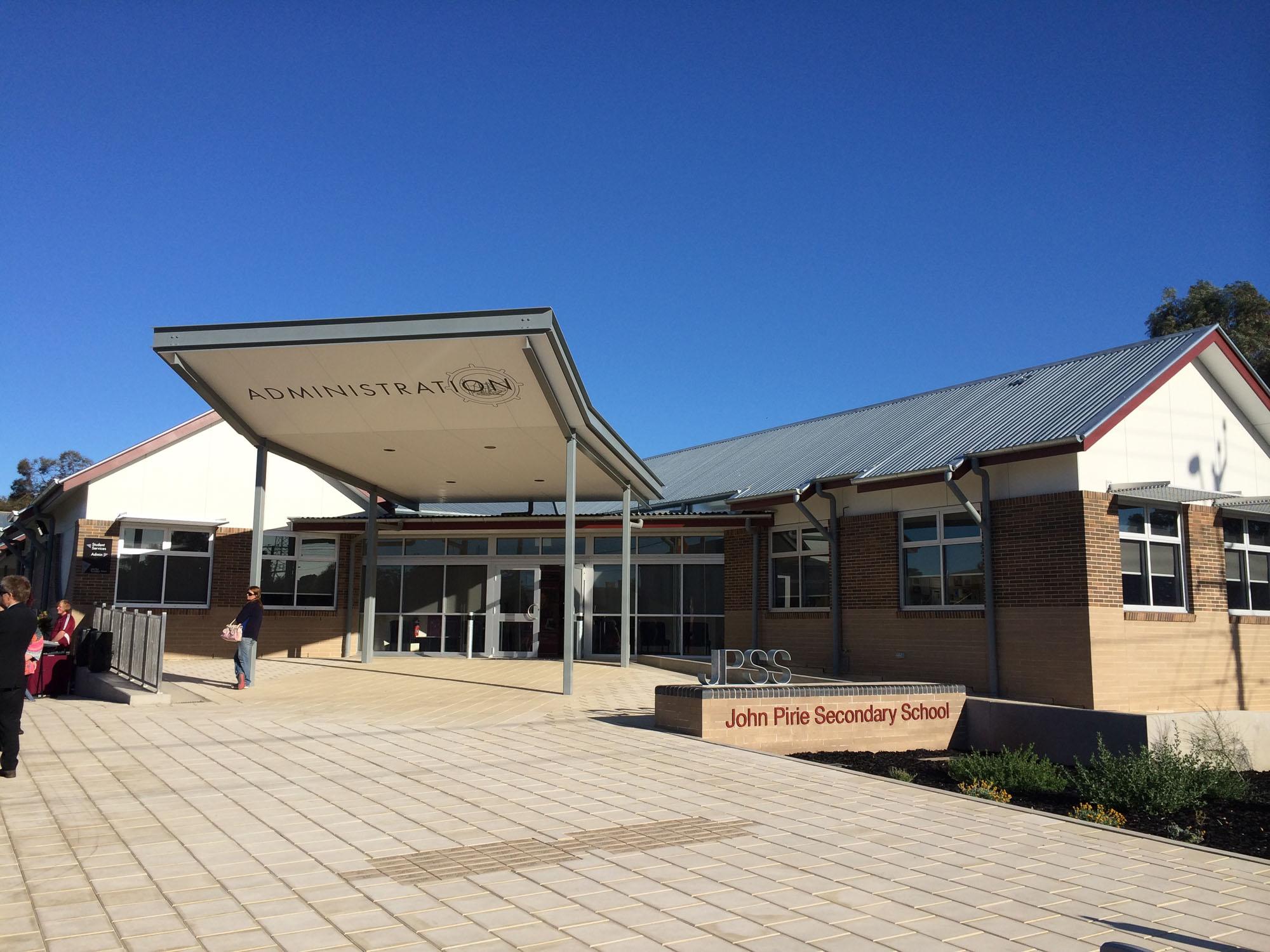 2014 - John Pirie School
