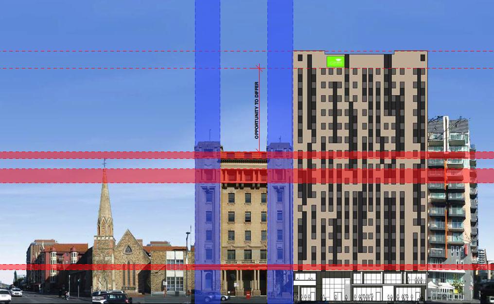 urban nest streetscape elevations