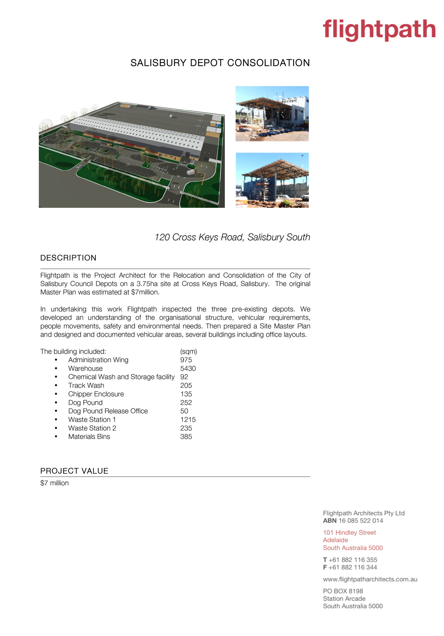 2013 - Salisbury Depot