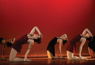 """""""Elastic Heart"""", my first attempt at choreography, Steamboat Dance Theatre early 2016. Photo cred to Steamboat Pilot."""