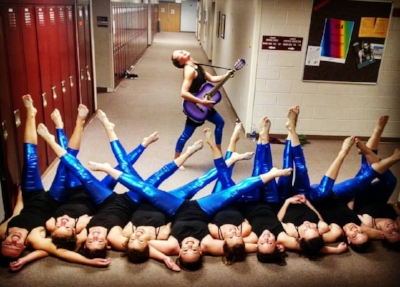 """""""In Time"""", Steamboat Dance Theatre 2017, and the band of awesome women who helped me put it on stage."""