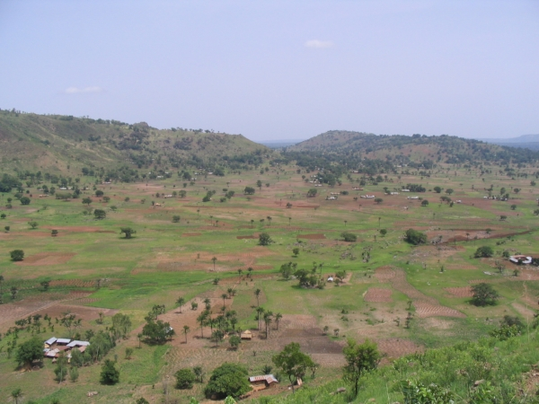 Pessare, my home village for 2 years of Peace Corps service - Togo, West Africa, 2004-2006.
