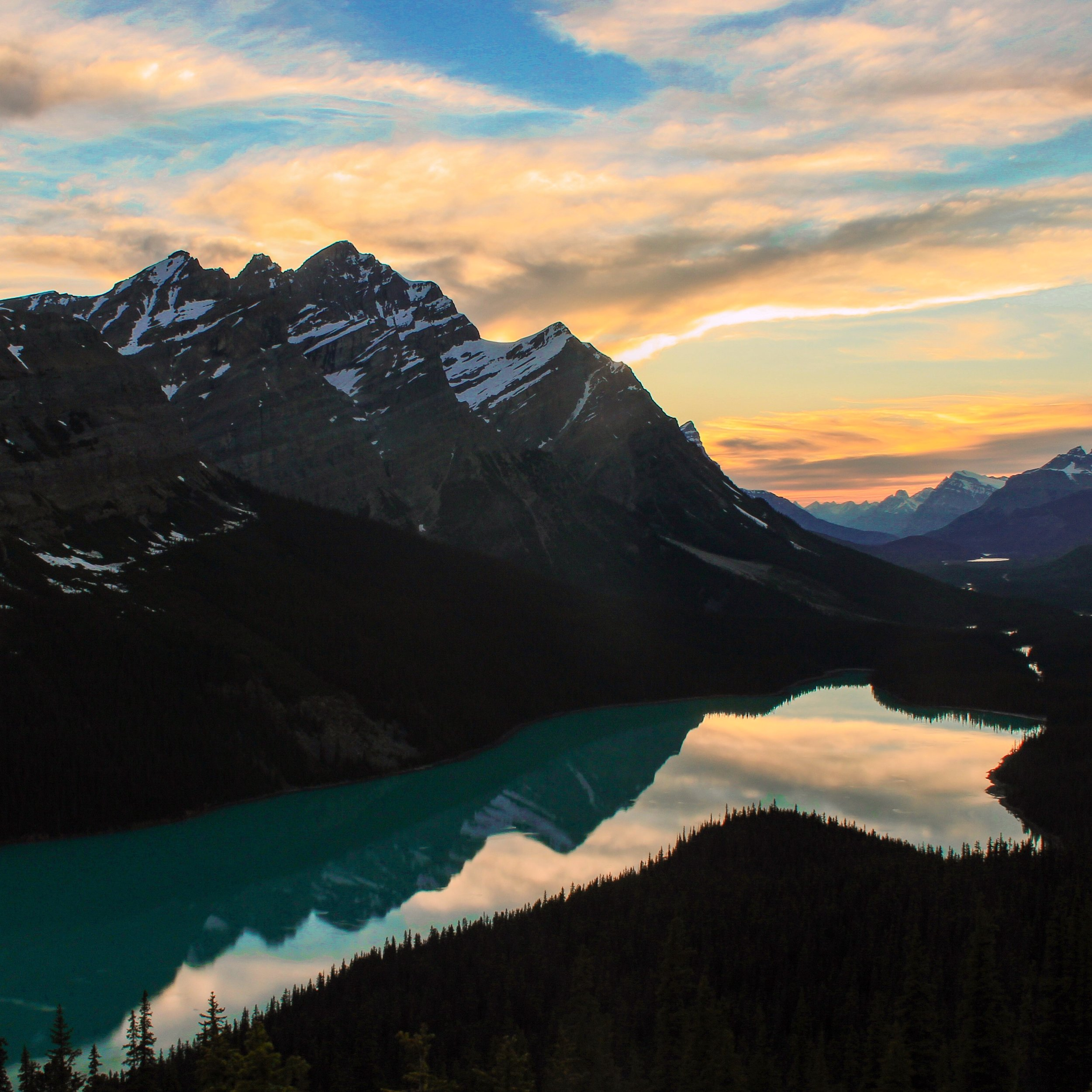 Is Peyto lake the prettiest lake in Banff?