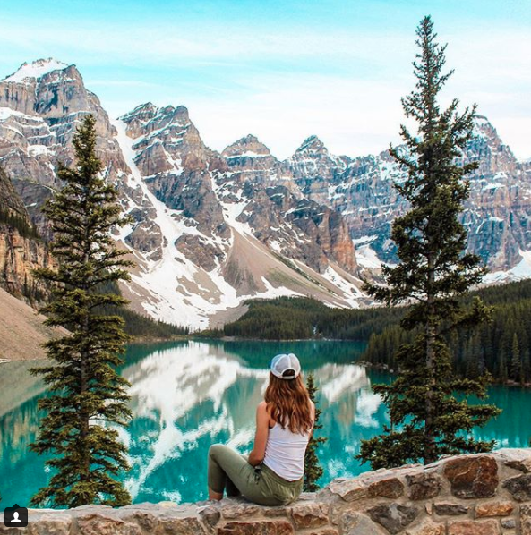 Chloe Moore - chlobetrotter Moraine Lake, Banff National Park, Canada.png