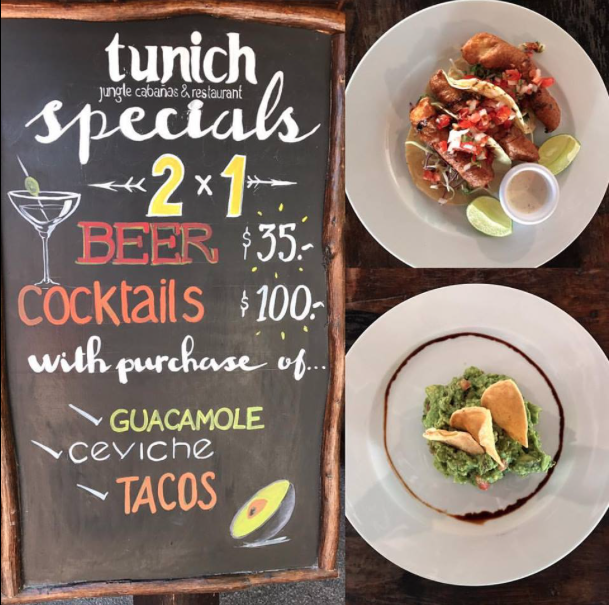 Photo Credit:  Tunich Jungle Cabañas  & Restaurant