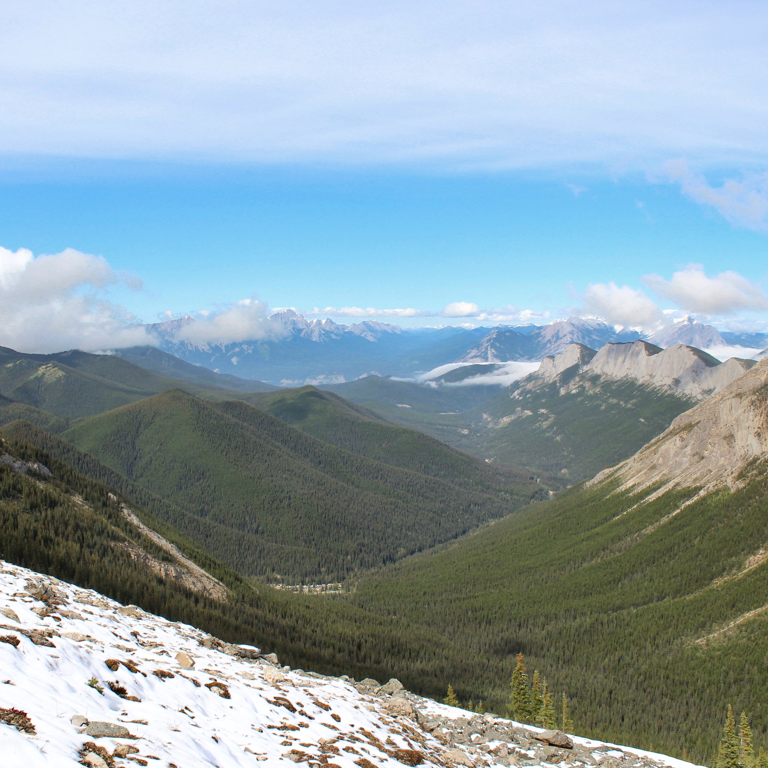 Views from the Sulphur Skyline hike
