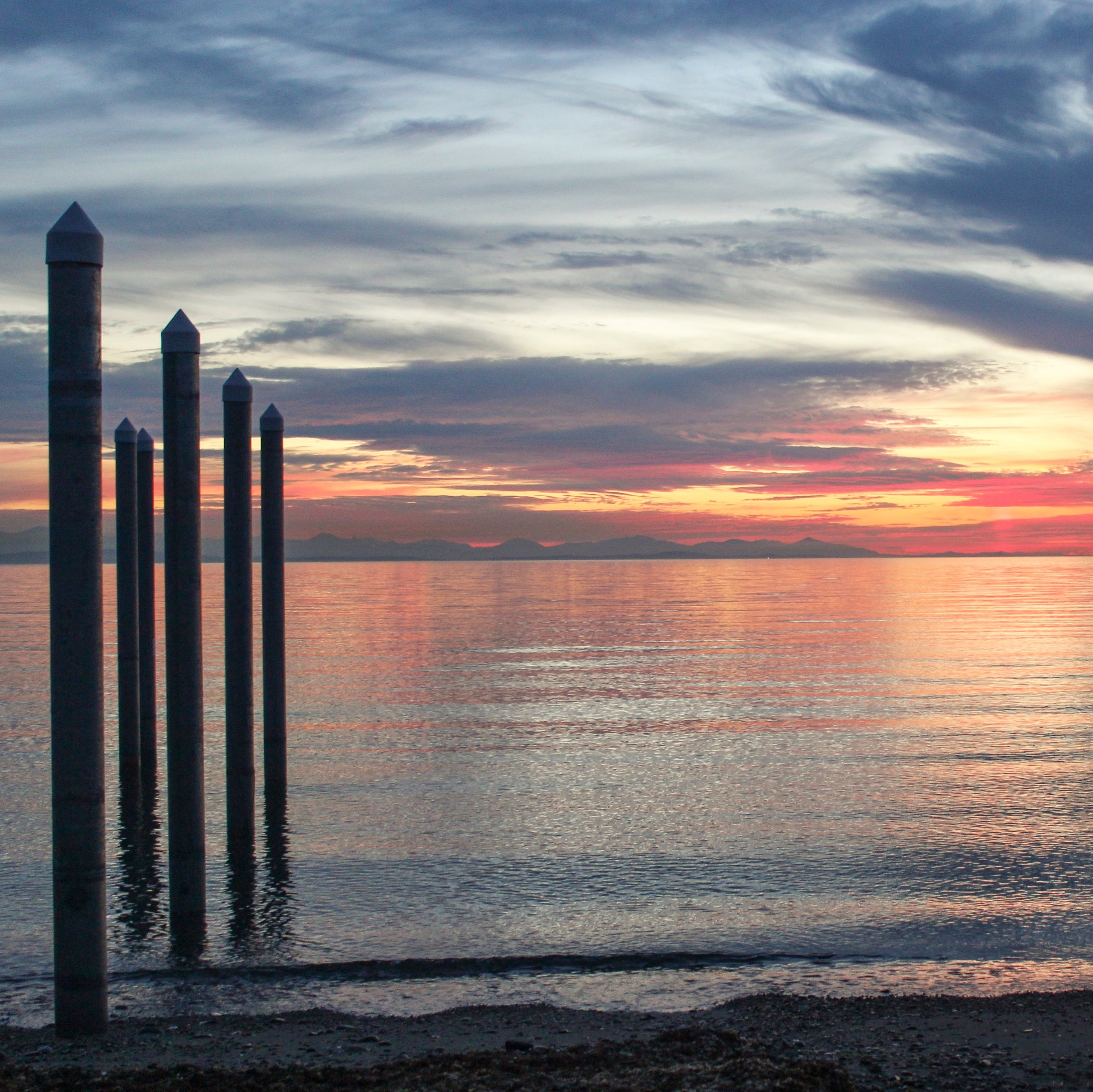 Sunset, Point Roberts, Washington, near Canada.jpg