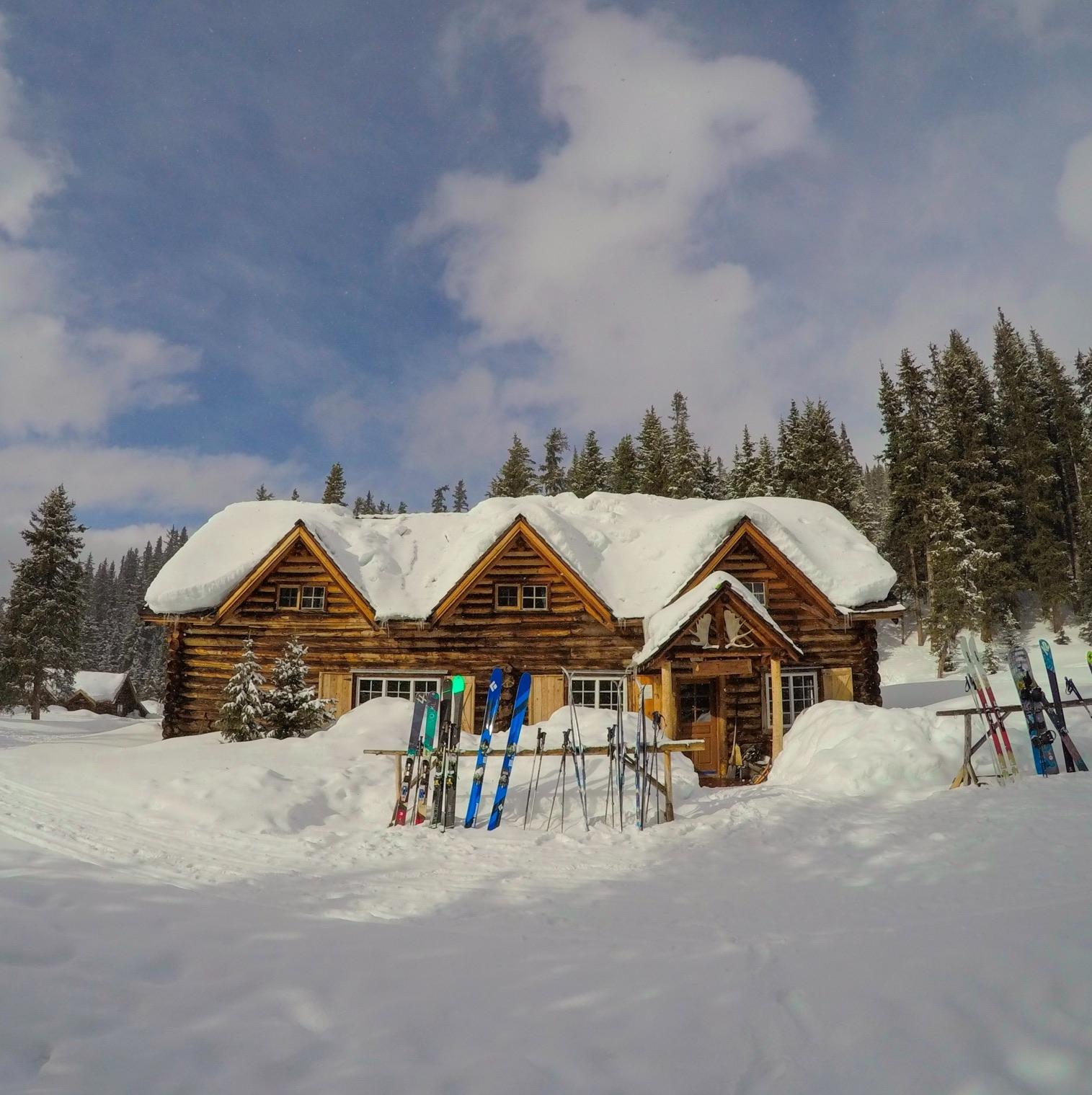 Skoki Lodge in winter