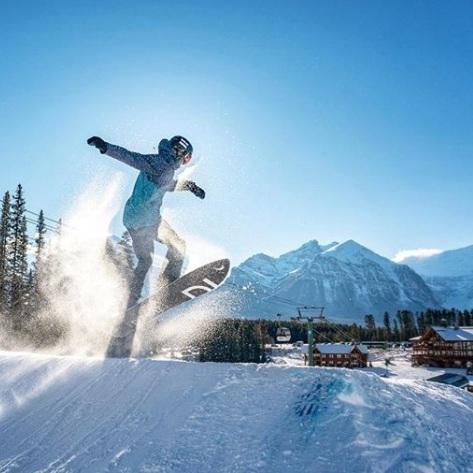 Credit:  Lake Louise Ski Resort Instagram