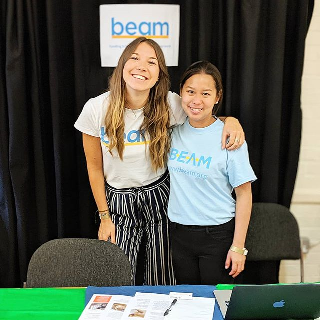Today @wearebeam hit £500,000 in donations! So so exciting! In just 2 years, our tiny team of just 12 people has helped 131 homeless people access a training course and 43 of those amazing people are back in stable, paid work 😁  If you're interested in working, volunteering or supporting us, feel free to ask me any questions and make sure you follow @wearebeam