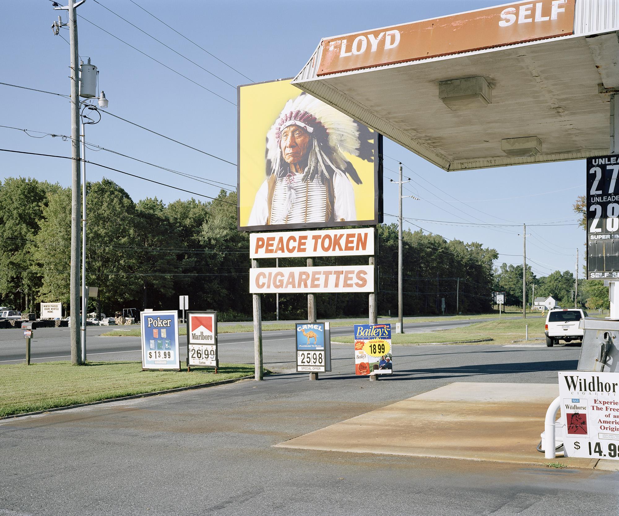 Peace Token Cigarettes, Route 13, VA.