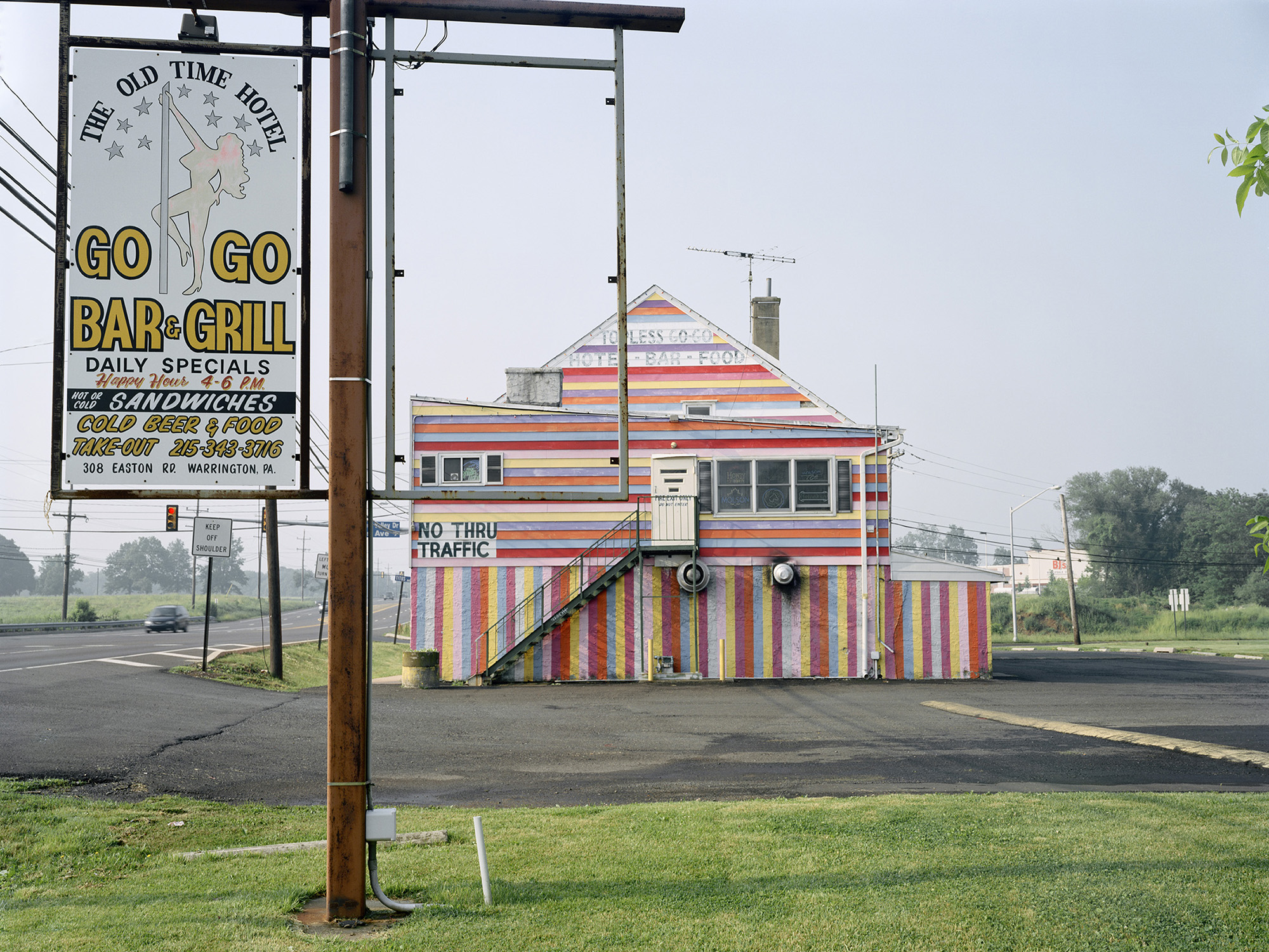 The Old Time Hotel Go-Go Bar and Grill (now demolished), Warrington, PA.