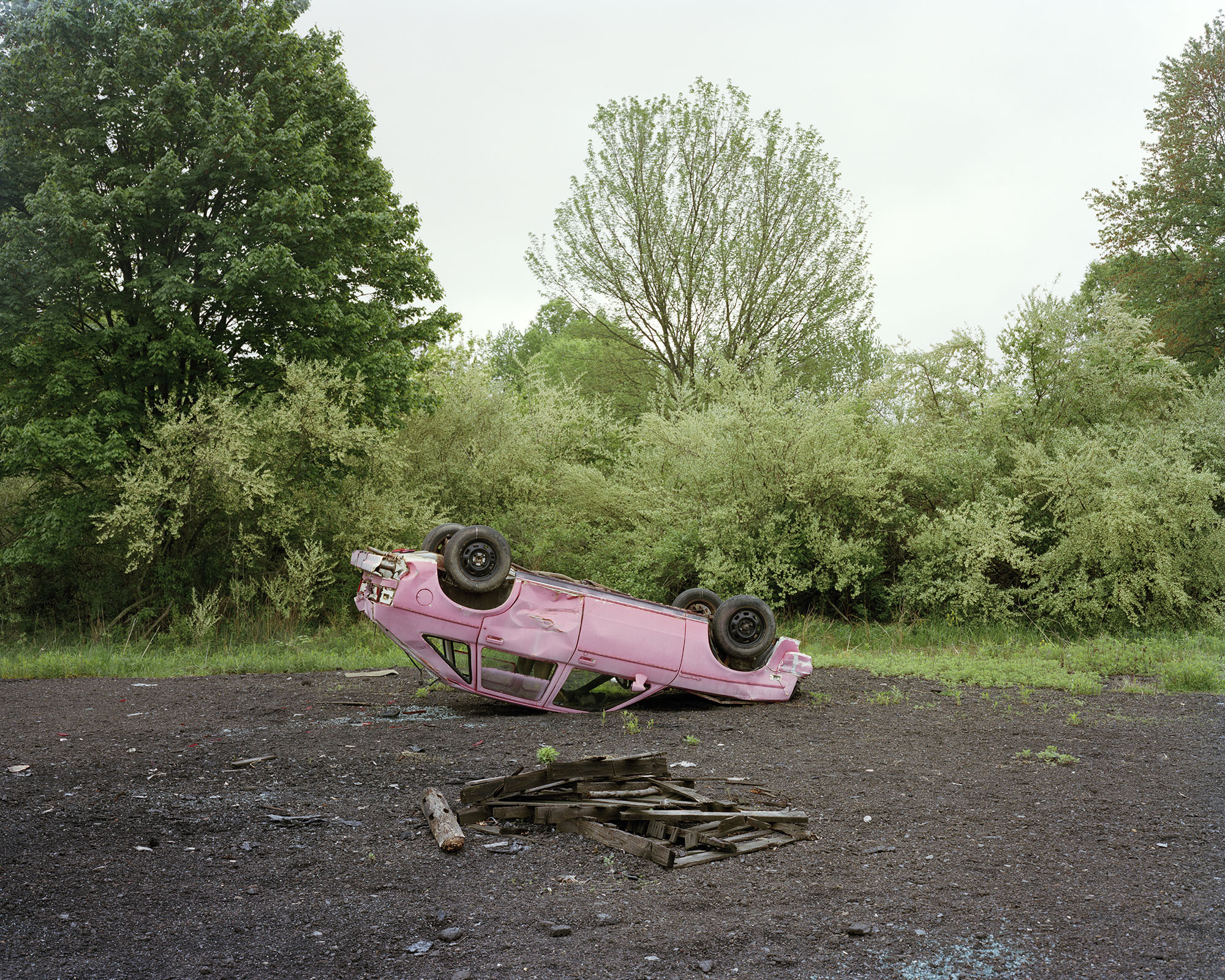 Untitled (Pink Car), Point Pleasant, PA.