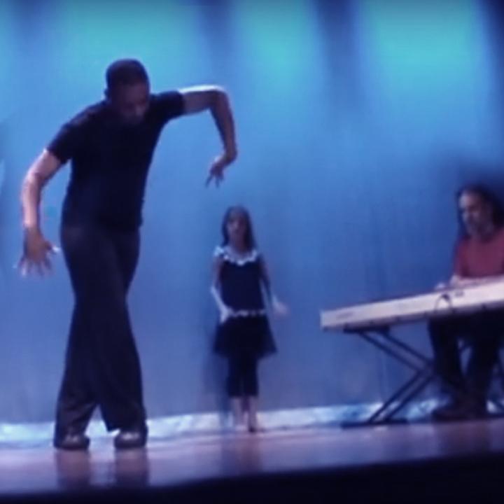 Performing with AutisTic Dancer Dante