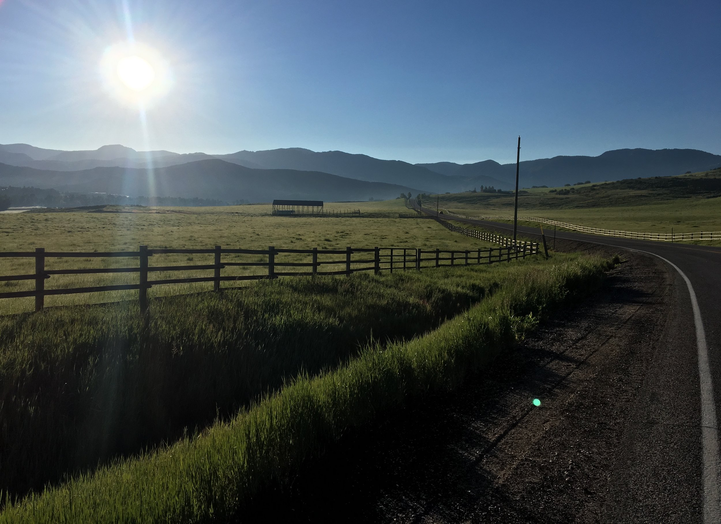Morning Run! I forgot how beautiful Summer Mornings can be!
