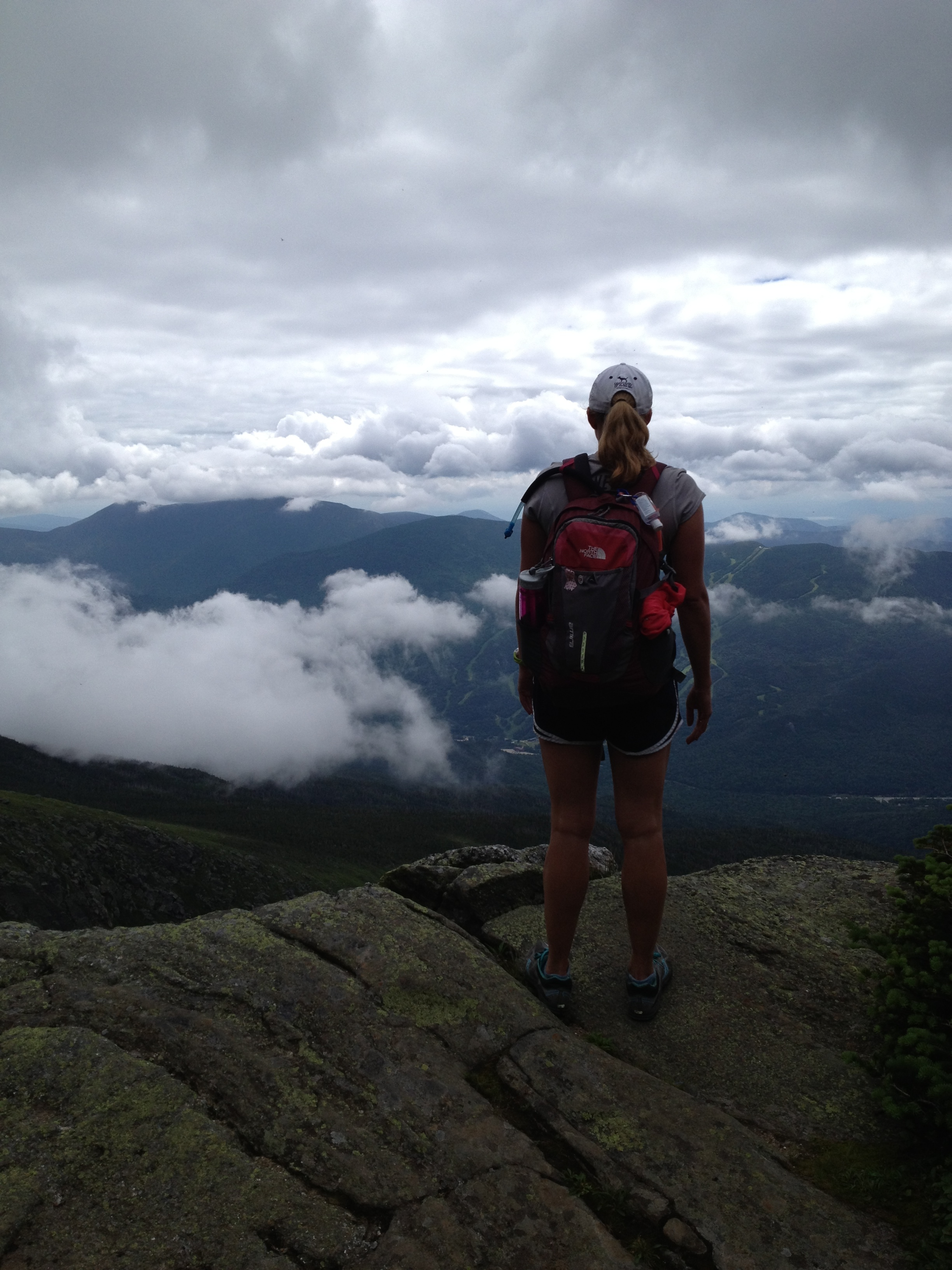 First time hiking and I decided to hike the most dangerous mountain in New England - Mt. Washington. I guess you can say that I like a challenge eh?
