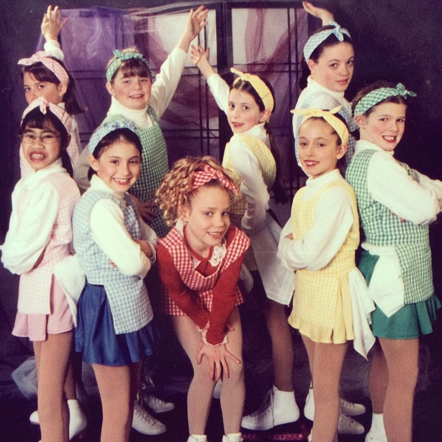 TBT to my second-ever ice show. Those Annie-costumes were amazing and that is still one of my favorite  songs . Also they put in pink. If only I had known how to pose in photos properly..
