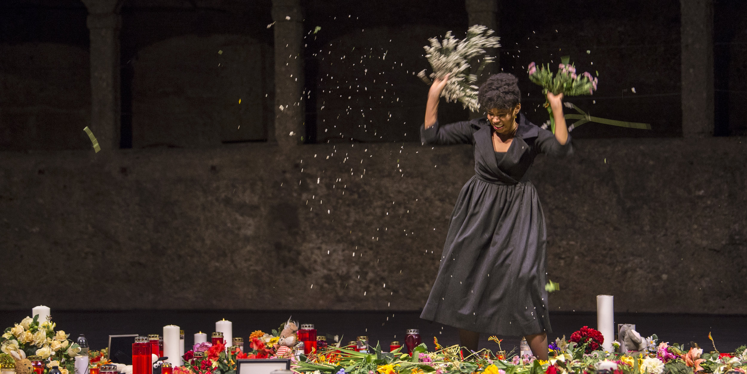 Vitellia in  La Clamenza Di Tito  at Salzburg Festival, 2017.  Photo by Ruth Walz
