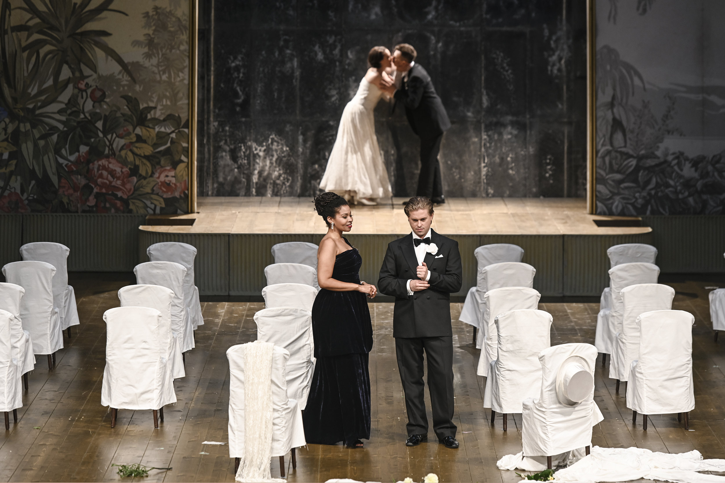La Contessa in  Le nozze di Figaro  at Opernhaus Zürich, June & July 2019 Photo by T+T Fotografie/Toni Suter and the Opernhaus Zürich.