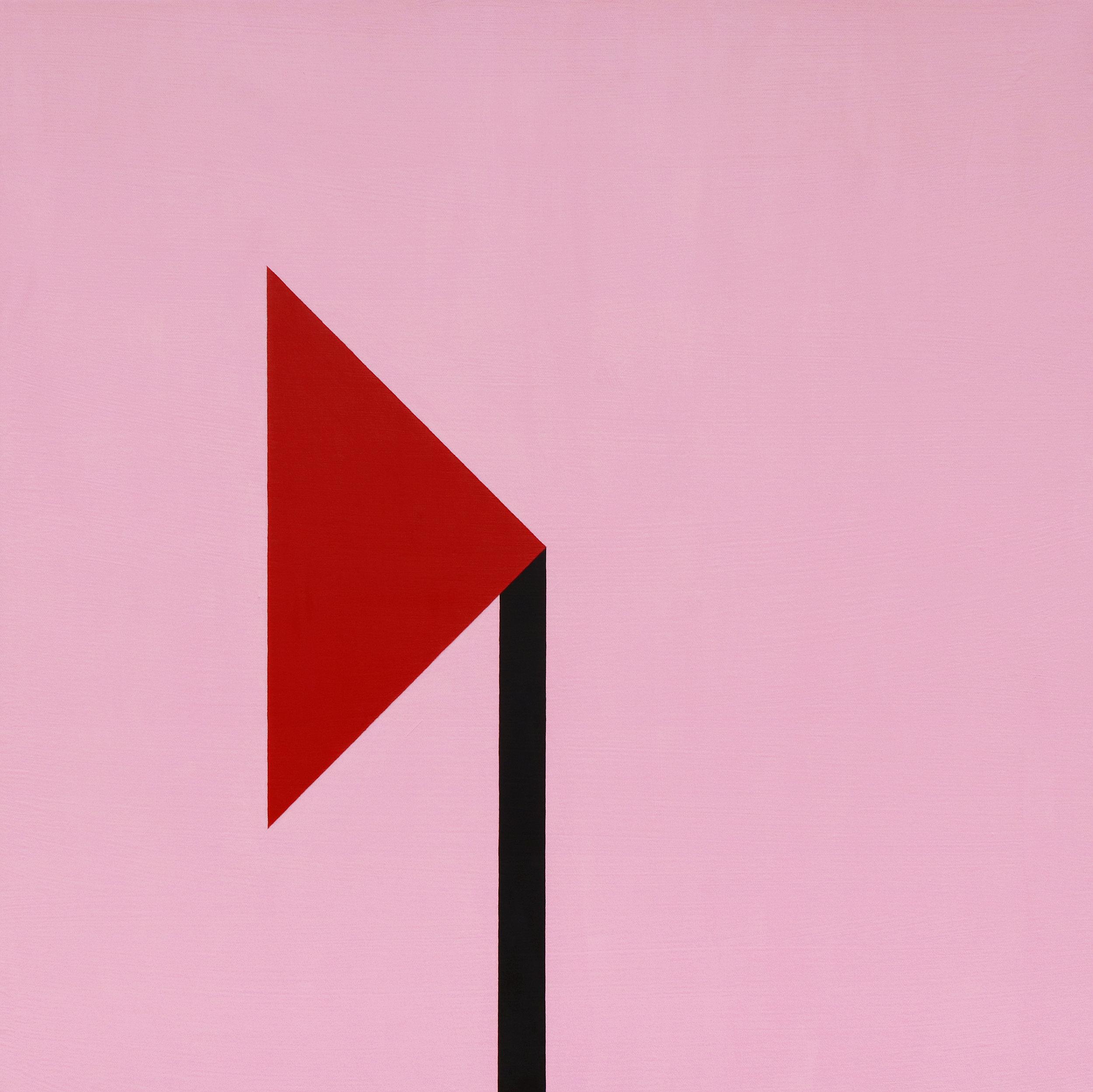 a dark corner   acrylic on canvas