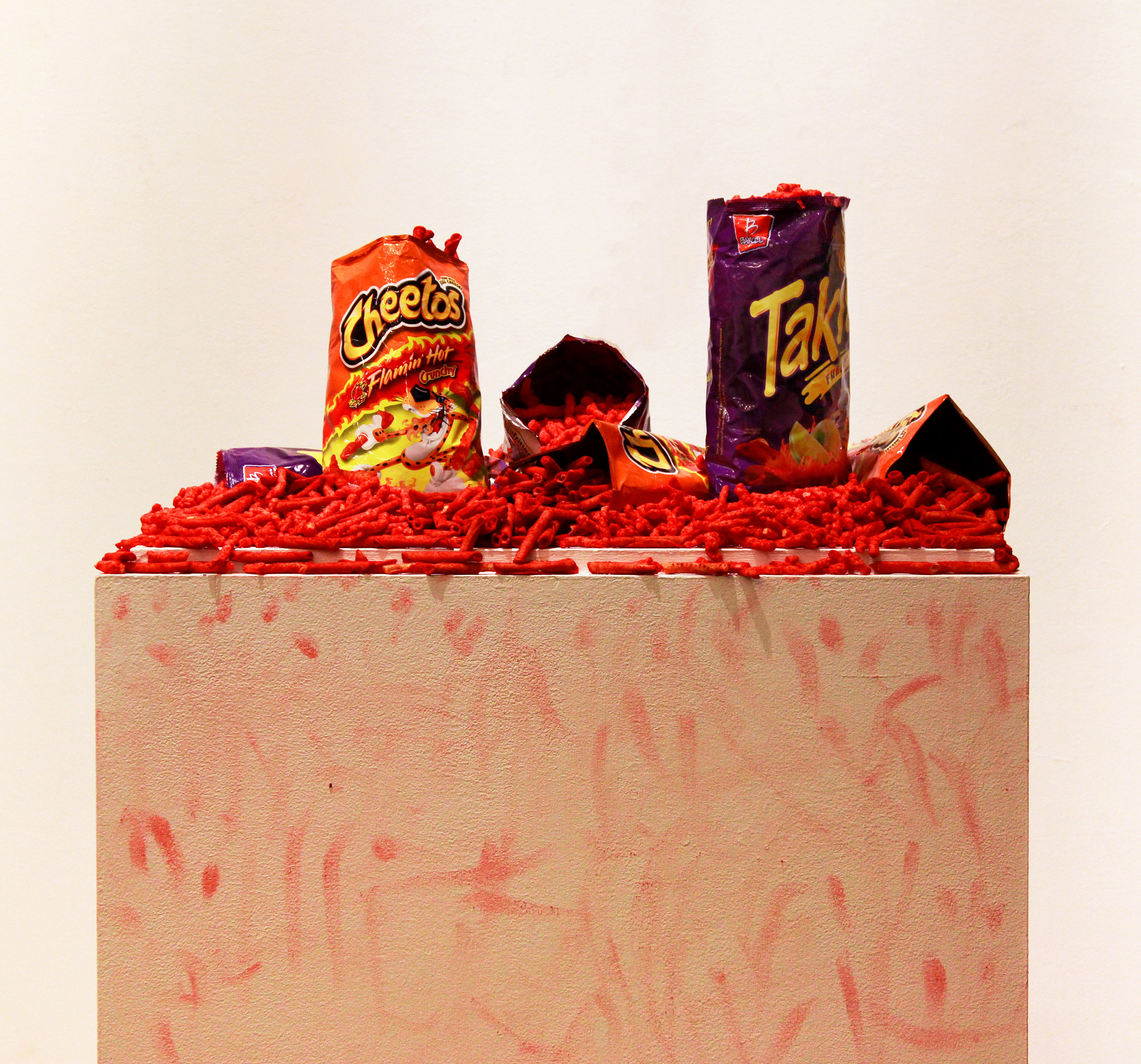 Cultural Exchange   Flamin' Hot Cheetos and Takis Fuego