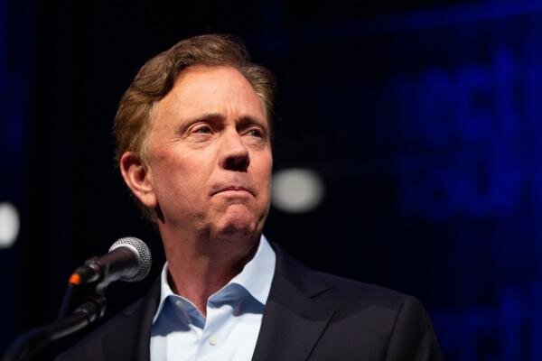 Governor Ned Lamont in May 2019 Photo credit: Frankie Graziano / Connecticut Public Radio