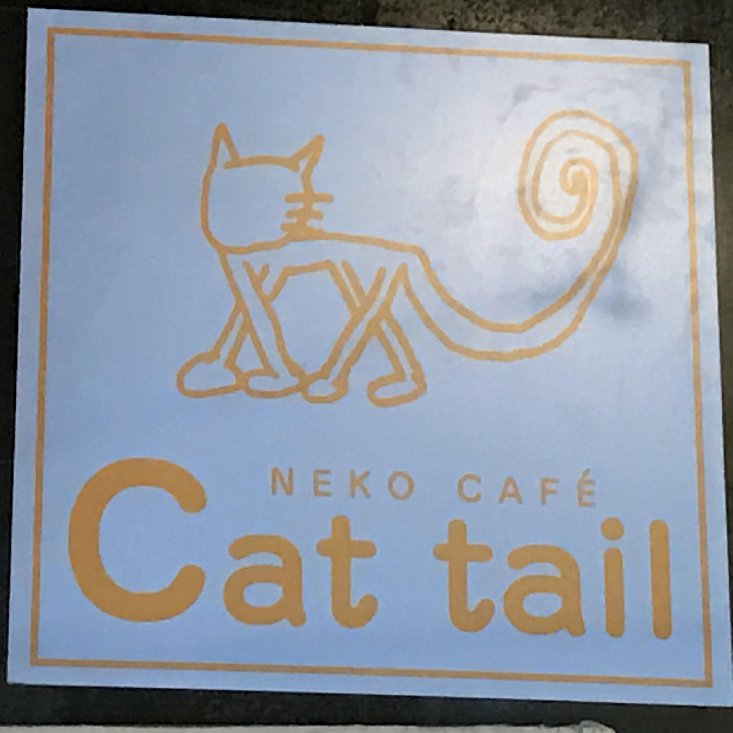 Neko Cafe Cat Tail   Osaka, Japan