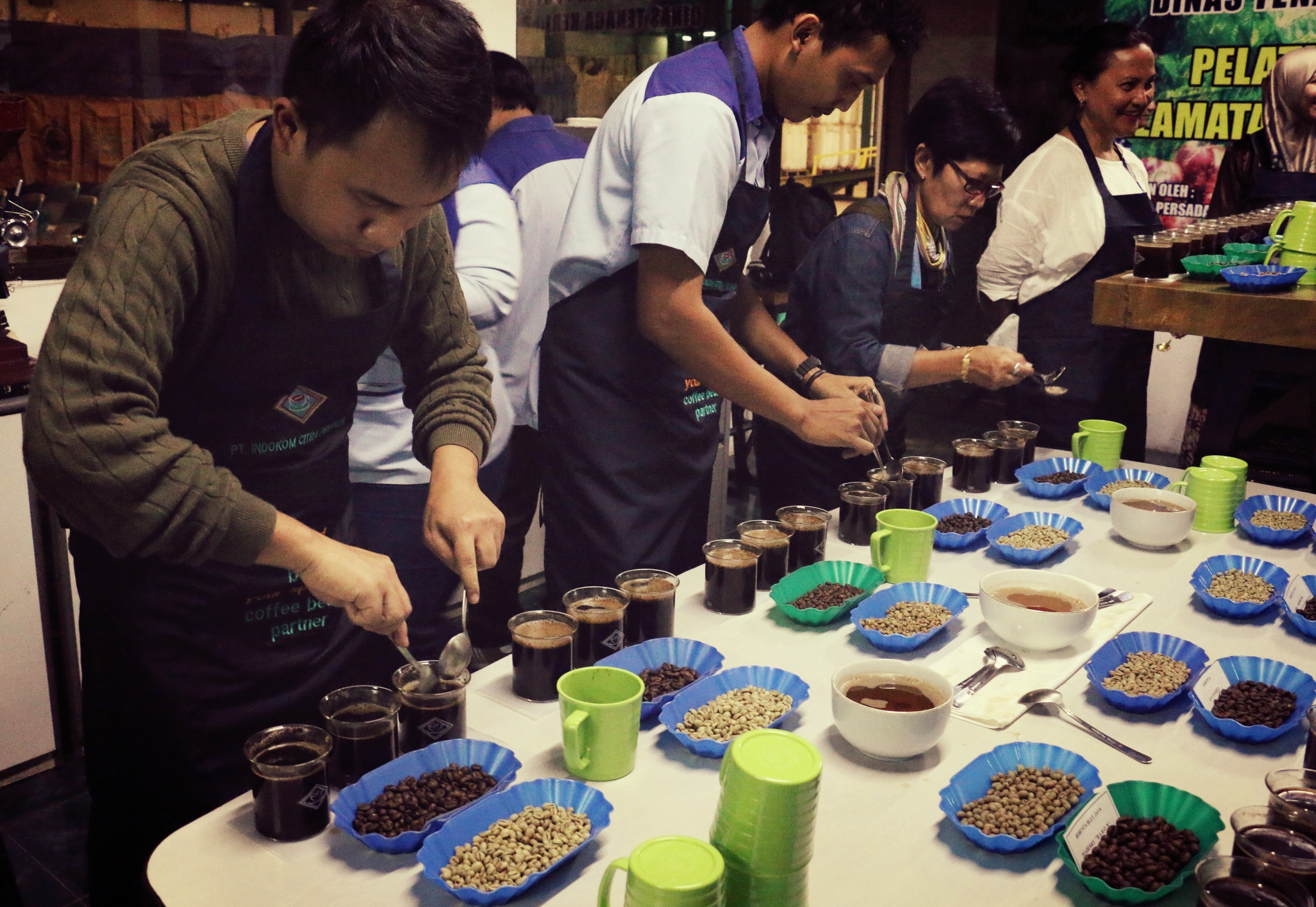 Cleaning the Cupping