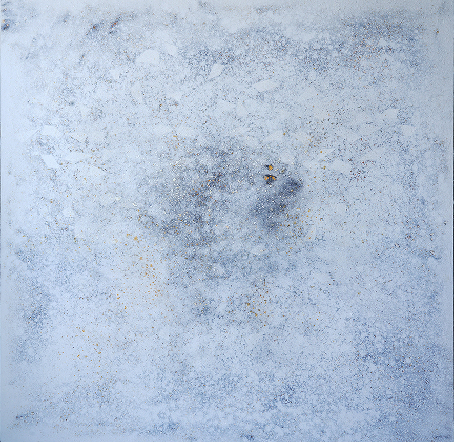 Dana Nehdaran-66x66-inches-Fe26 series-Iron powder and oil on linen-2019 (1).JPG