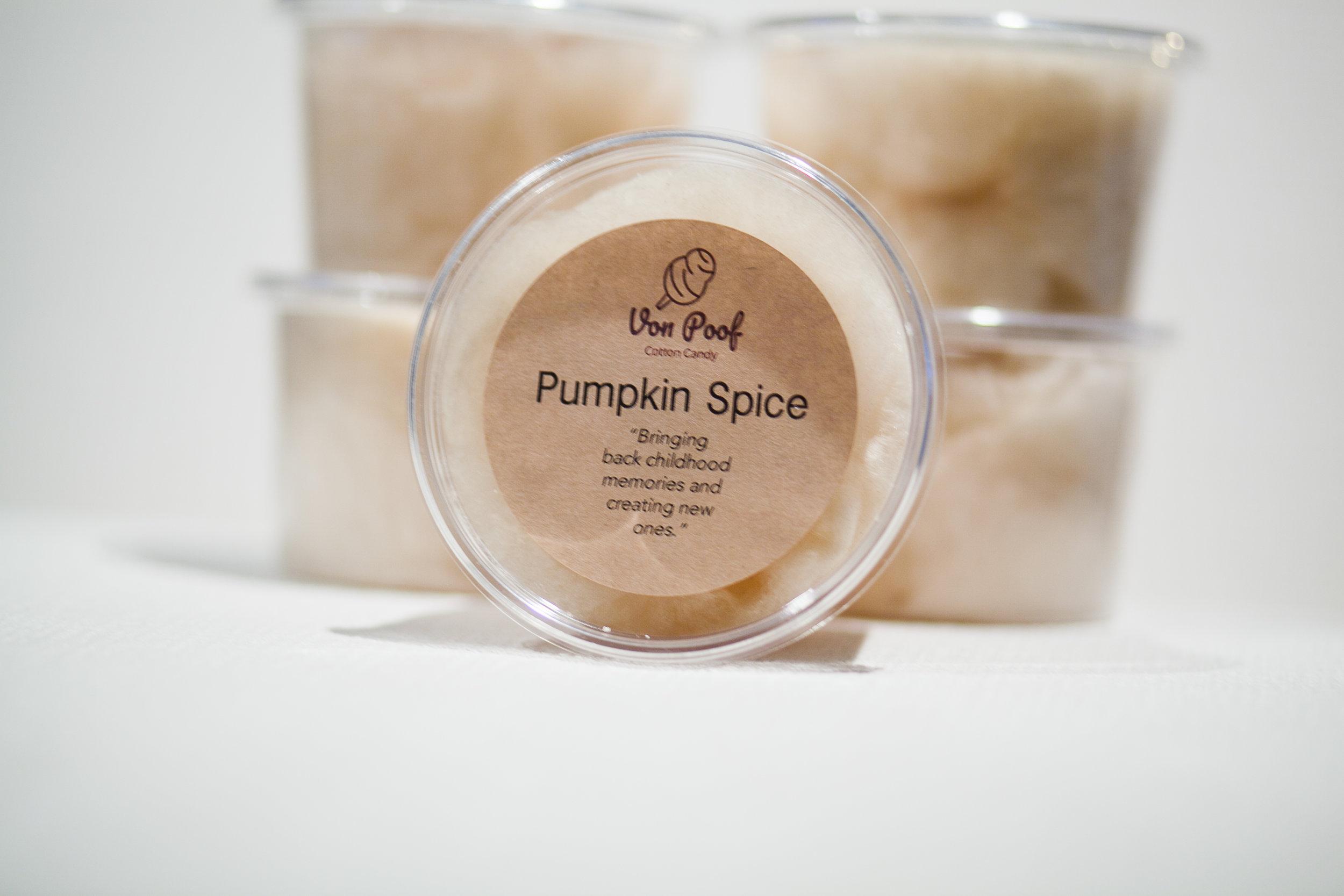 Pumpkin Spice - Our New Fall Flavor