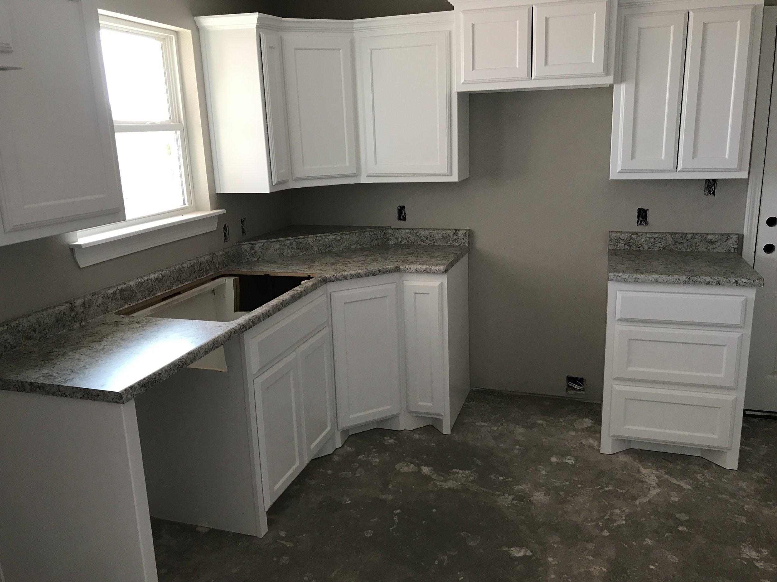 Construction Kitchen
