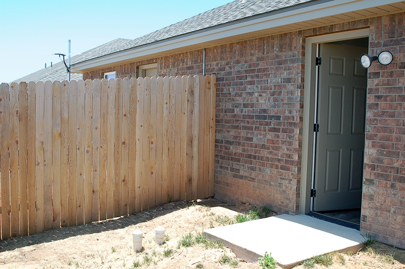 Back Door From Duplex to Back Yard