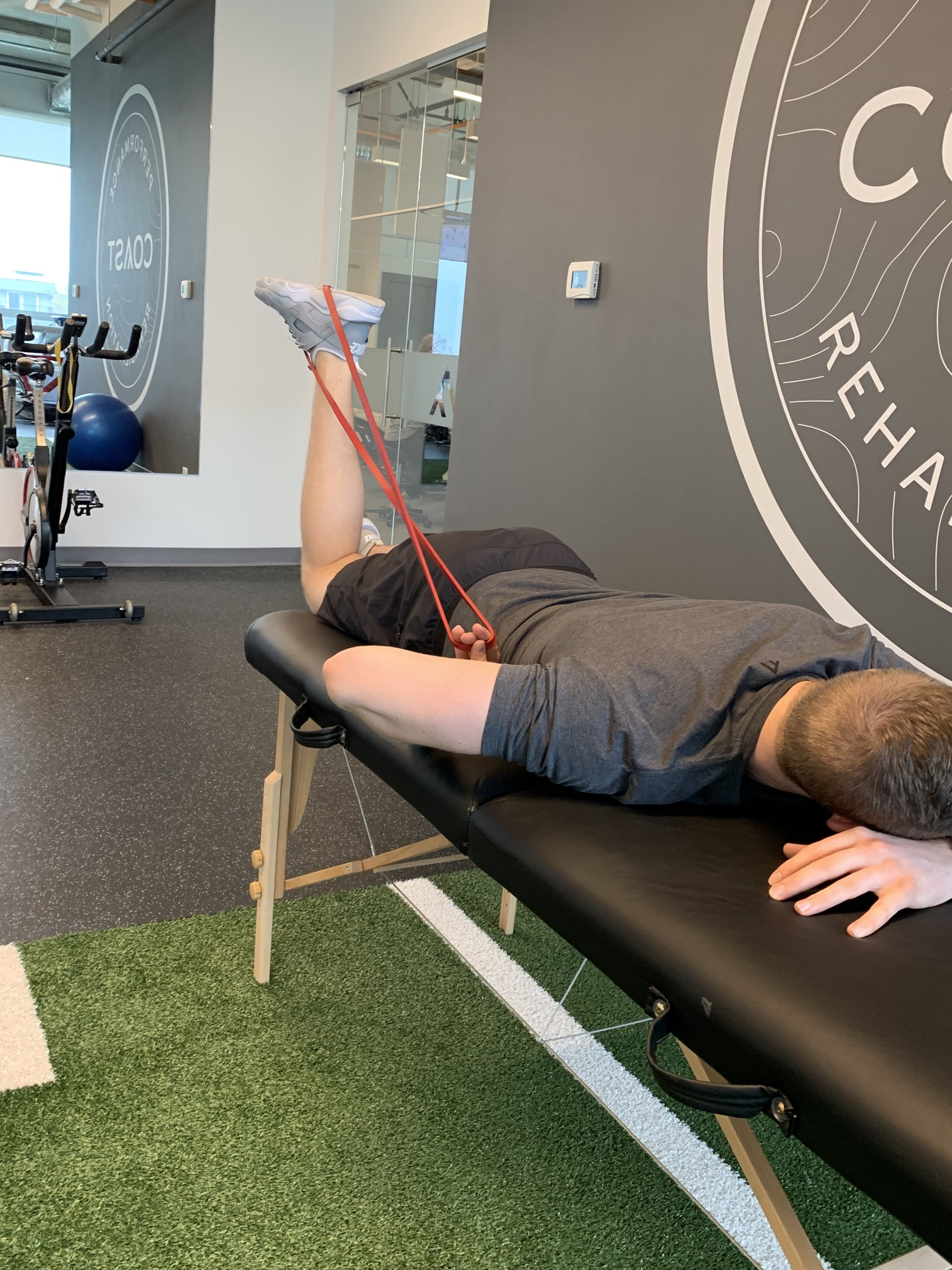 Prone Knee Extension
