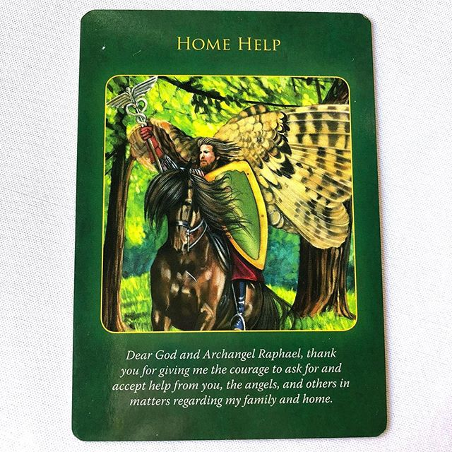 Your card is in regards to your home. There is a lot going on and things are feeling chaotic. Your angels want you to know it is time to spend some focus on your home. What project have you been meaning to get to? It is also a great time to ask for help. This can be guidance from your angels, hiring a housekeeper or organizer or asking a friend for help with your project. You are protected and safe so be courageous!