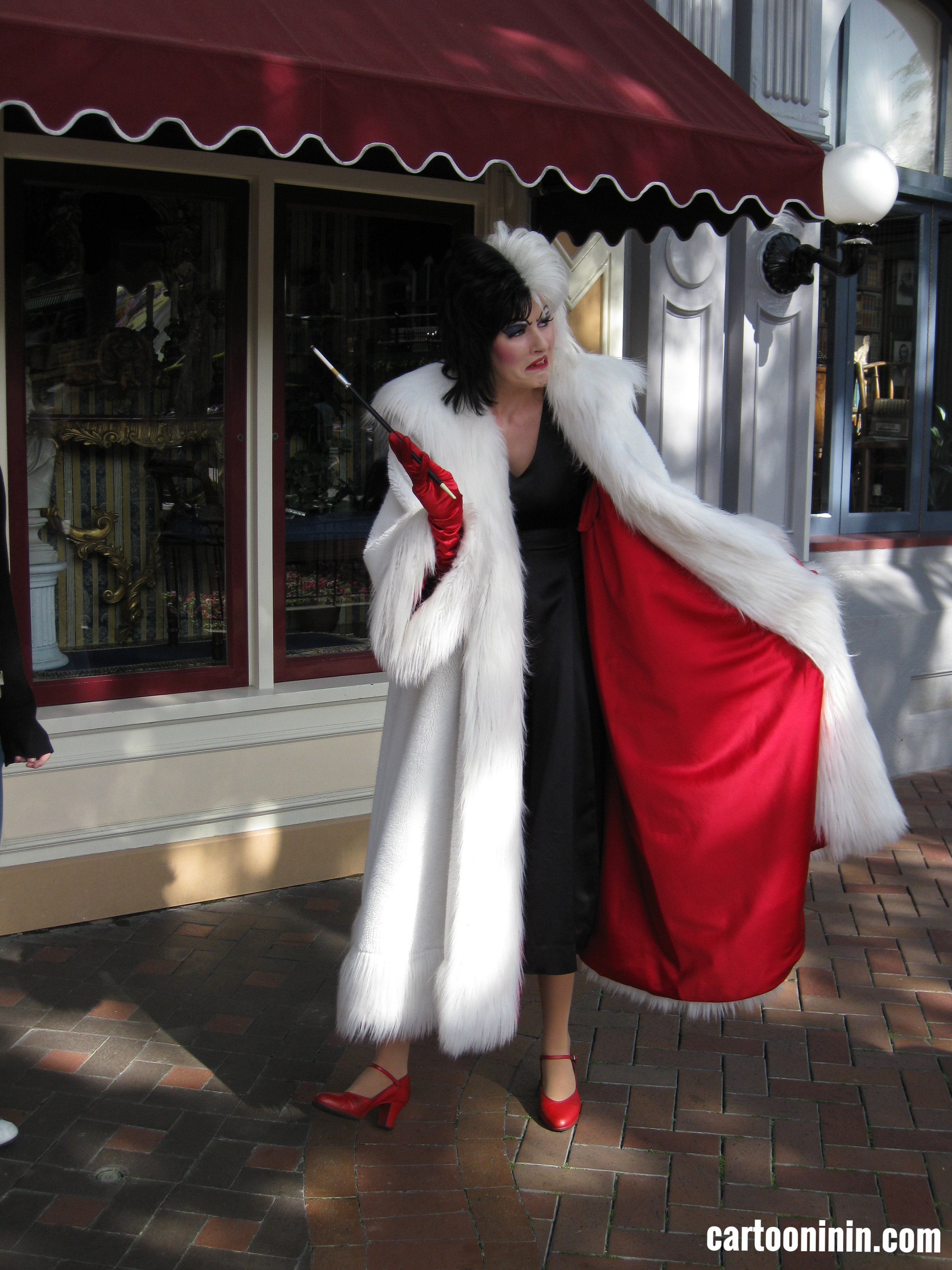 Cruella at Disneyland