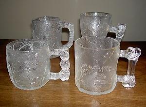 McDonald's Collectible Flintstones Mugs