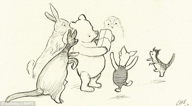 One of Shephard's Original Sketches