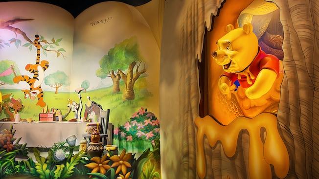 Inside the Winnie the Pooh Disney Ride
