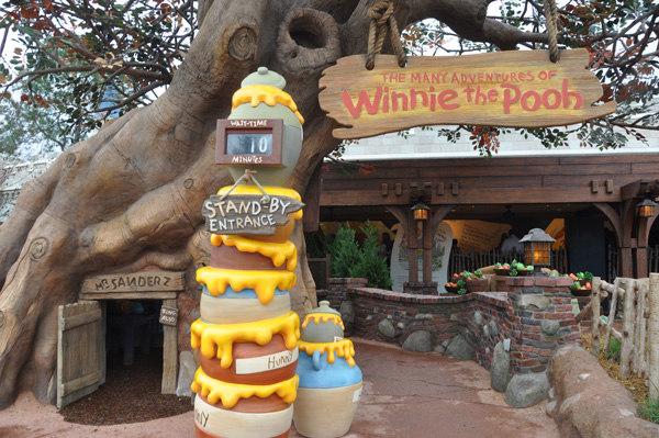 The WDW Ride Entrance