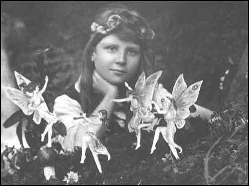 The infamous fairy photo