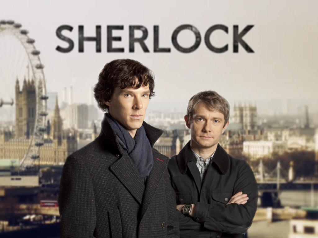 BBC's Sherlock with Cumberbatch and Freeman