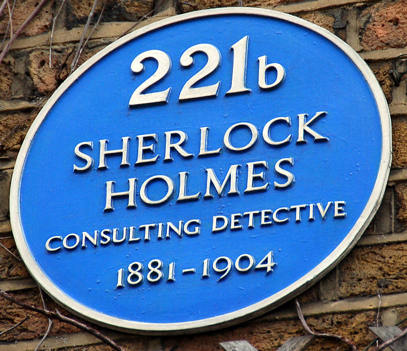 Official Blue Plaque outside the Museum