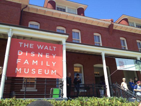 The Walt Disney Family Museum in San Francisco