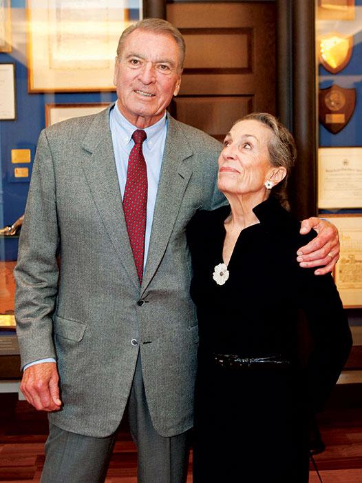 Ron Miller and Diane Disney Miller